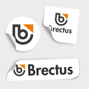 Brectus Klistermärken, Etiketter, Dekaler 1