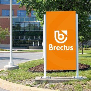 Brectus Skylt för utomhusbruk 1