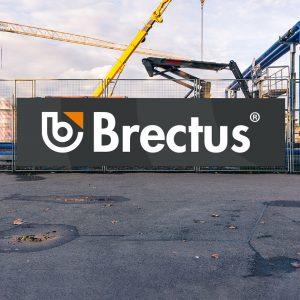 Brectus Byggplatsskylt